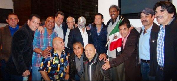 WBA with JC Chávez and Mexican World Champions