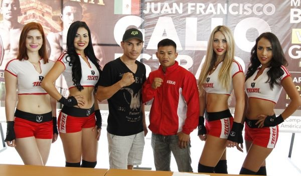 """Officials announced for the defense for the unified champion """"Gallo"""" Estrada"""