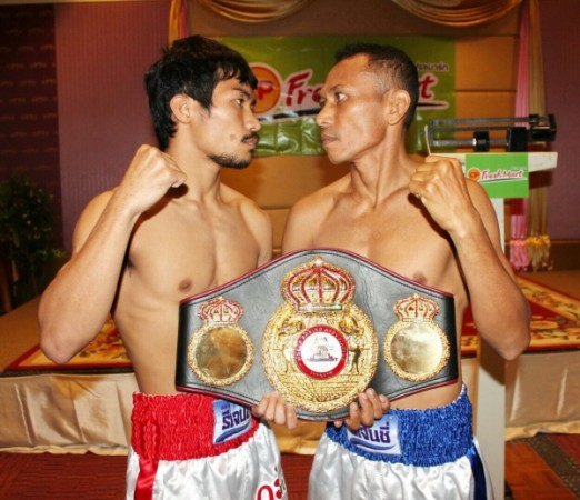 Tomorrow Freshmart vs Rachman enter the ring