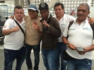 Colombiano Batey Padilla ya está en Tapachula