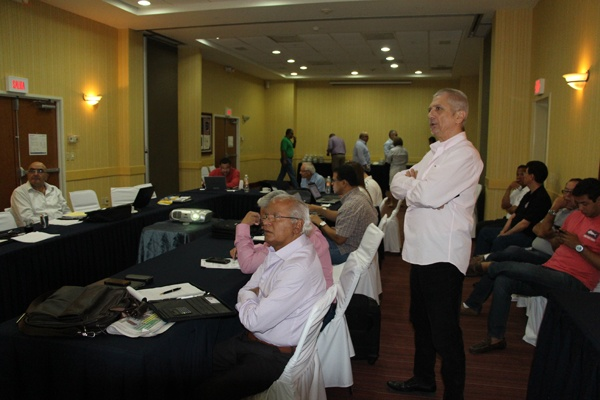 Second work day of WBA directory in Tapachula