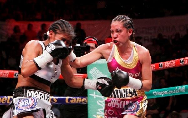 Joselyn Arroyo, Nueva Campeona Interina AMB