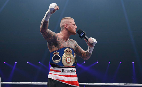 Patrick Nielsen is the new 168 lbs WBA international champion