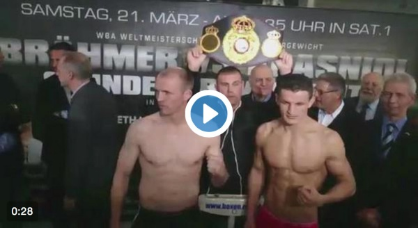 Braehmer in weight to defend against Krasniqi