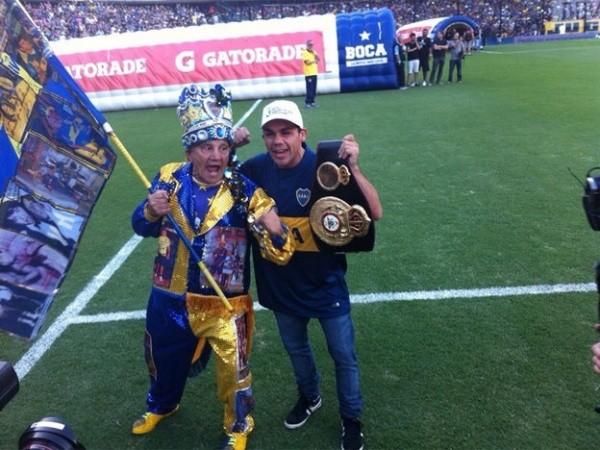 Boca Júniors honors JC Reveco
