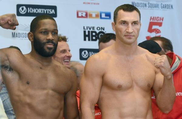 Wladimir Klitschko - Bryant Jennings weighin
