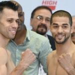 Francisco Santana vs Sadam Ali weighin