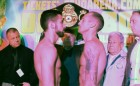 Derry Mathews - Tony Luis weigh-in