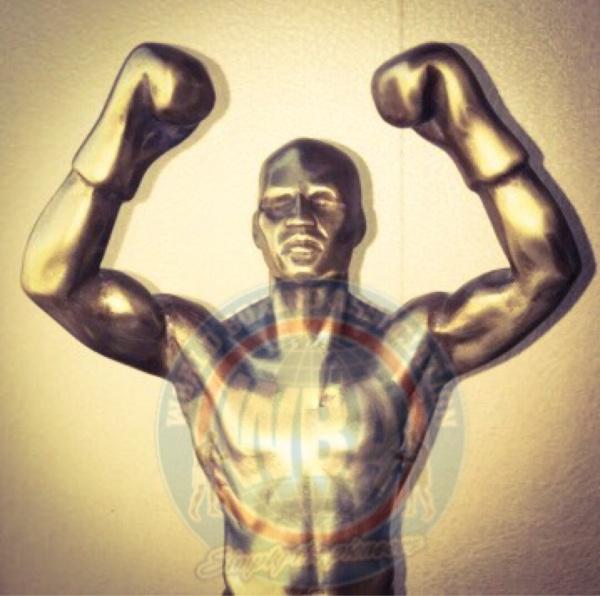 Trofeo Hombre del Triunfo estará en Las Vegas este jueves