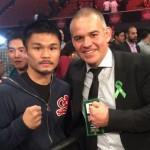 Kohei Kono with Gilberto Mendoza
