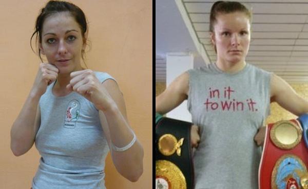 Galina Ivanova vs Csilla Nemedi fight for the 118 interim title