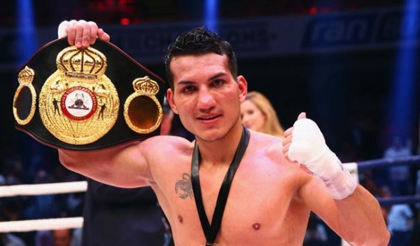 Culcay enters the history of boxing from his native Ecuador