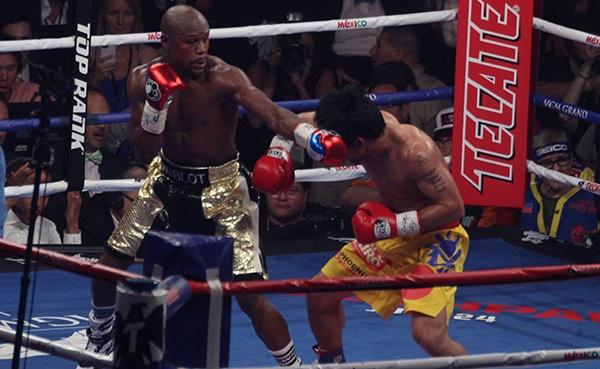 Mega Galería: Mayweather Jr venció a Pacquiao y sigue invicto