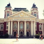 The National Theater Ivan Vazov in Sofia (Bulgaria)