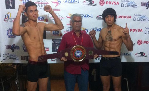 Frank Rojas/Arvey Montes Weigh-In