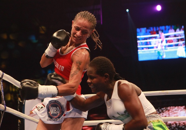 Rivas Stops Mosquera to Retain Title