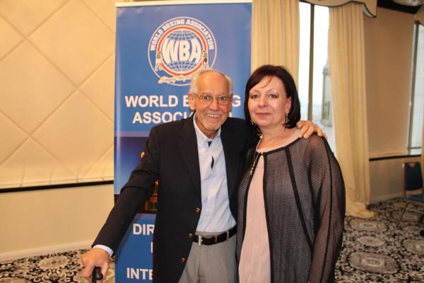 Gilberto Mendoza with Mariana Borissova