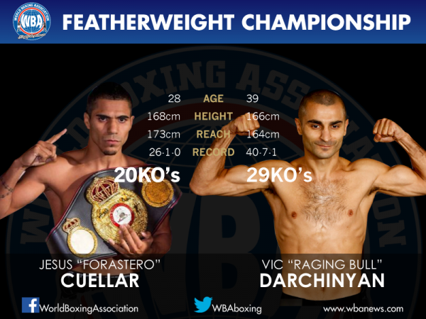 Cuellar vs. Darchinyan passed the weighin