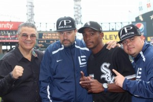 Erislandy Lara launches Chicago White Sox game