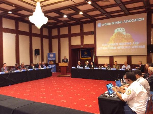 Apertura de la Reunión de Directorio AMB