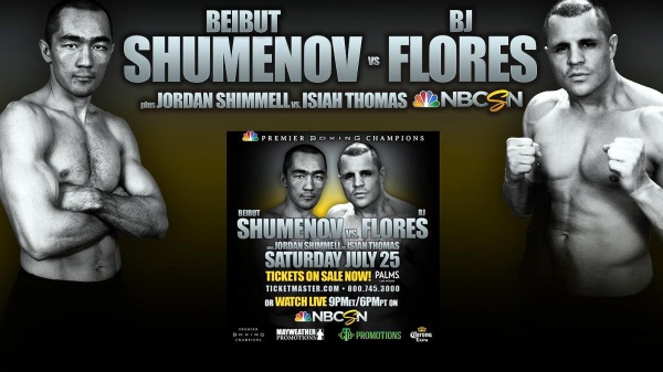 Shumenov and Flores Fight for Interim WBA Cruiser Title