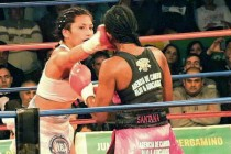 Esther Anahi Sanchez is a serious fighter. She is a disciplined fighter. She is an exciting fighter. (Photo: Portal Pergamino)