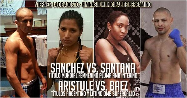 Dahiana Santana Defends Featherweight Title