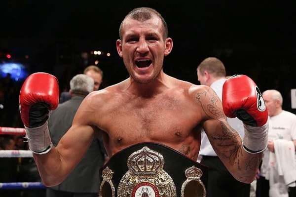 Derry Mathews defeated Tony Luis in April to win the interim WBA World lightweight title. (Photo: Courtesy)