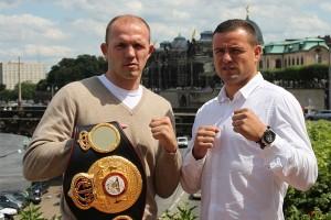 Campeón AMB 175 Braehmer defiende ante Konrad el sábado en Alemania