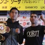 Kazuto Ioka - Roberto Sosa weigh-in