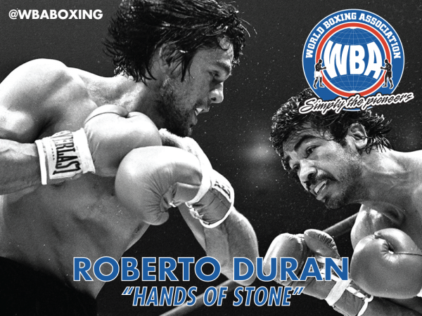 Sept 12: Roberto Duran will be signing autographs at WBA booth in Box Fan Expo