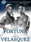 Javier Fortuna vs. Carlos Velasquez will be televised live on Fox Sports 1 beginning at 9 PM ET/6 PM PT.