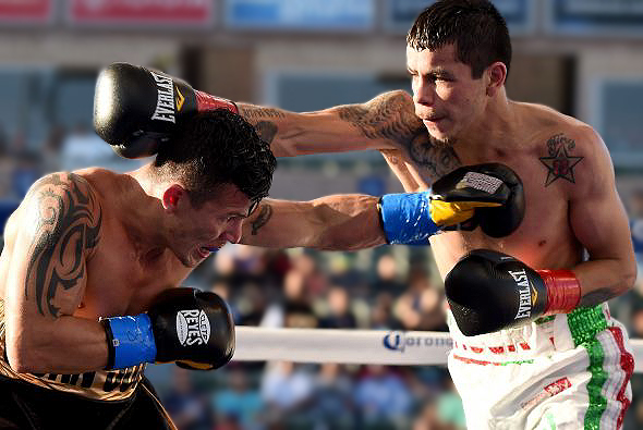 Flores Defends Interim WBA World Title