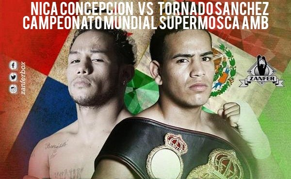 """Arbitro canadiense para """"Tornado"""" Sánchez vs. """"Nica"""" Concepción"""