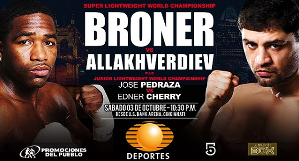 Coming off a loss at welterweight to Shawn Porter in his last fight, Broner looks to bounce back with a title shot.