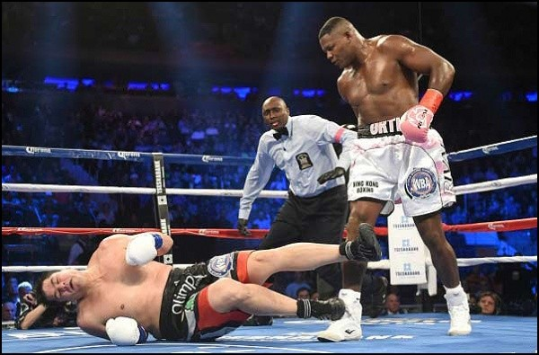 Ortiz Pummels Vidondo in Title Win