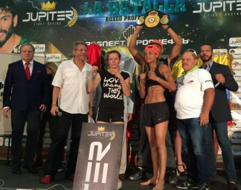 Mayerlin Rivas vs Galina Ivanova