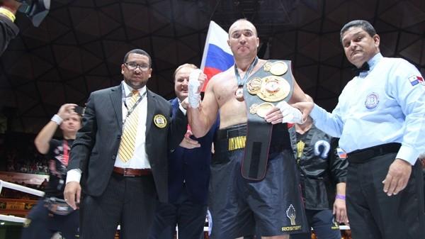 WBA espera comunicación de Alexander Ustinov