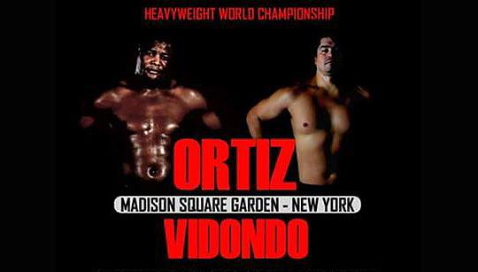Ortiz vs. Vidondo for Interim WBA World Heavyweight Title