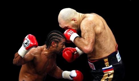 David beat Goliath in 2009 to win the WBA World heavyweight title. (Photo: Johannes Eisele/Reuters)