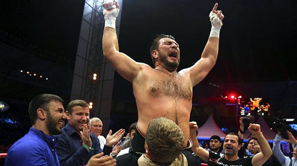Chagaev won the vacant WBA World title in July 2014 by defeating Fres Oquendo by majority decision. (Photo: Courtesy)
