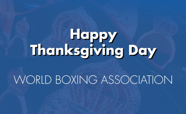 Happy Thanksgiving Day - WBA Boxing