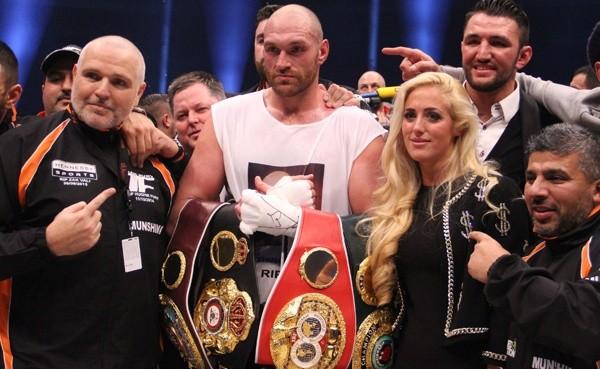 Photos: Tyson Fury beats Wladimir Klitschko