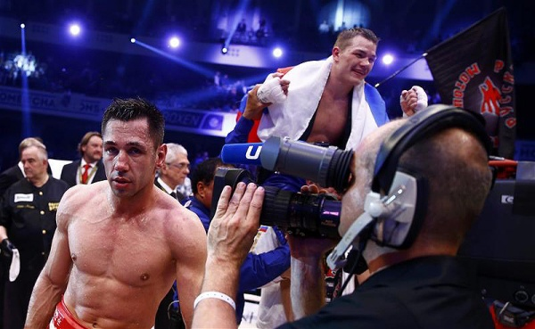Chudinov and Sturm fought for the vacant title last May in Germany, Chudinov winning by split decision. (Photo: Courtesy)
