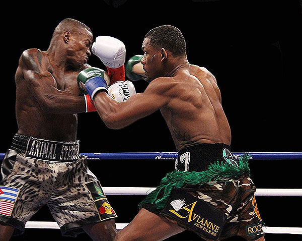 """""""I respect him to the utmost,"""" said Jacobs after the fight. """"But I knew this night would be my night."""" (Photo: Courtesy)"""