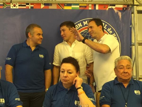 Gennadi Golovkin en la 94a Convención AMB