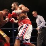 Jezreel Corrales vs Juan Rodriguez. Photos Sumio Yamada