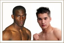 Twenty-two-year-old Paul Kamanga, fighting out of Johannesburg, is a former WBA Pan African super lightweight champion.