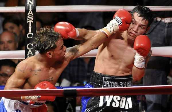 "Concepcion and Marquez fought twice in 2011. ""El Nica"" won both times, but  Marquez is no pushover. (Photo: EME)"