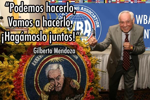 Gilberto Mendoza continúa en la pelea